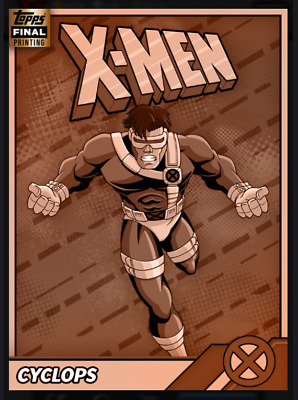 Topps Marvel Collect Card Trader Retro X-Men Cyclops [Digital]