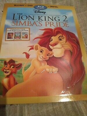 The Lion King II: Simbas Pride (Blu-Ray + DVD + Slipcover) (!!NO DIGITAL CODE!!)