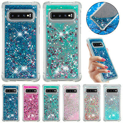 For Samsung Galaxy A10 A30 A20 A50 M20 A70 Case Bling Liquid Quicksand TPU Cover