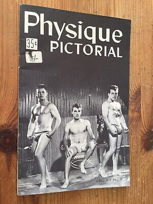 Rare Physique Pictorial Magazine Vintage Muscle Bodybuilding Gay Interest