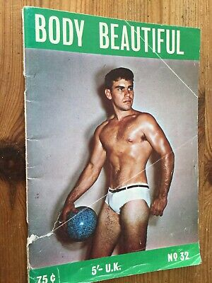 Rare Vintage Body Beautiful Magazine No 32 Beefcake Bodybuilding Gay Interest