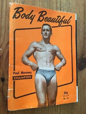 Rare Vintage Body Beautiful Magazine No 20 Beefcake Bodybuilding Gay Interest