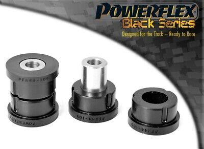Rear Upper Arm Rear Bushes Powerflex PFR44-109BLK Lancer MKVIII 2.0 Ralliart 4WD