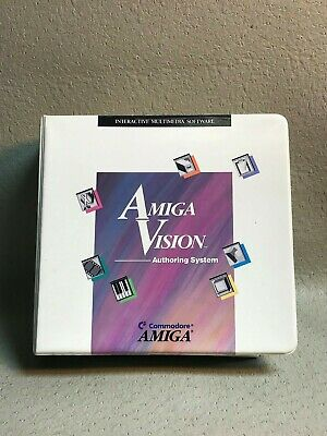 Amiga Vision Authoring System Manual and Disks   #3571