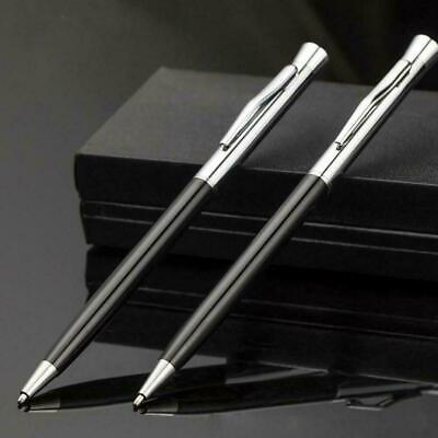 Creative Steel Ballpoint Pen Office Ball Point Writing Stationery Student P Z7B6