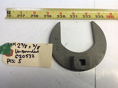 "Unbranded S20532 Crowfoot Socket 2-3/8"" x 3/8 Drive x 1/4 Thick (#1214-CC)"
