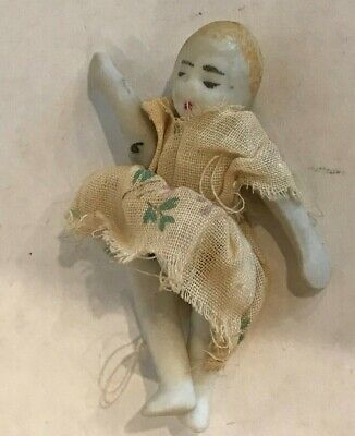 Antique Japanese Porcelain Bisque Small Doll