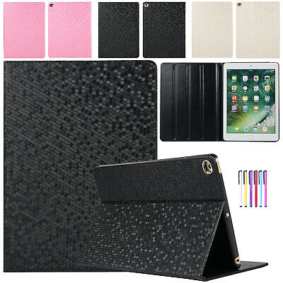 For iPad Mini 1 2 3 4 5 2019 Case Auto Wake/Sleep Leather Kickstand Tablet Cover