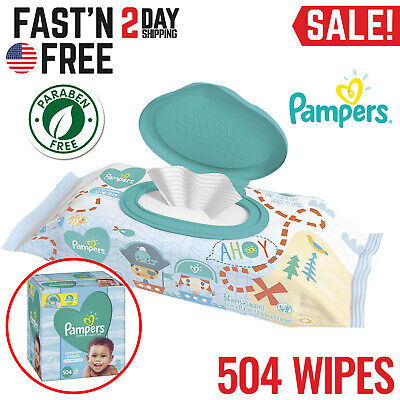 Baby Wipes Water Sensitive Natural Care Box Pack Soft Fresh Hypoallergenic