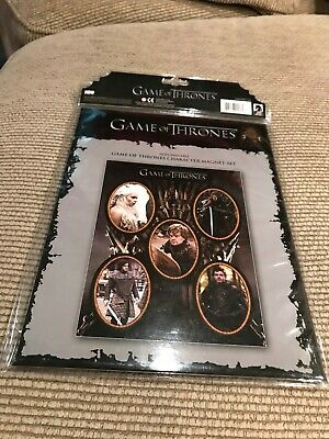 HBO Game of Thrones Character & House Siigil Magnet Set NEW Sealed