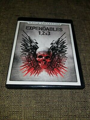 THE EXPENDABLES 1, 2 & 3 3-Film Collection 4K Ultra HD Blu-ray, Stallone, Arnold