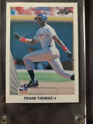 1990 Leaf Frank Thomas RC Chicago White Sox #300 Baseball Card MINT PSA 9 Or 10?