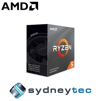 New AMD Ryzen 5 3600X 6 Core Socket AM4 3.8GHz CPU Processor with Wraith Spire C