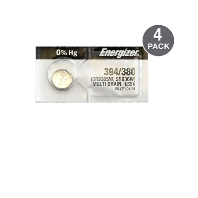 Energizer 394-380TS Button Cell Batteries (4 Pack)