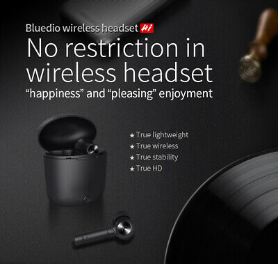 Bluedio Hi Wireless Bluetooth Earphone for Phone Stereo Sport Earbuds Headset ++