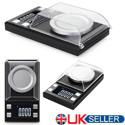 HOT Digital Milligram Scale High Precision Jewelry Balance Gram Weight Scale UK
