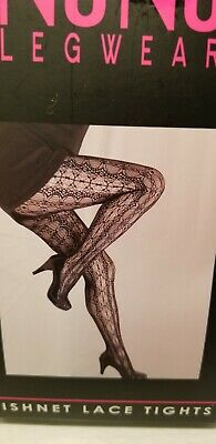 Ladies 4 Pair Lacy Sexy Fishnet Tights Lingerie
