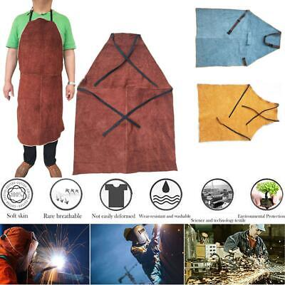 Welding Equipment Welder Heat Insulation Safety Protection Leather Apron 60x90cm