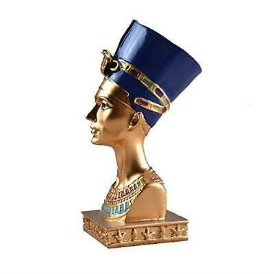 Queen Nefertiti Resin Statue Small Head & Bust Ancient Egyptian Collectable Gift
