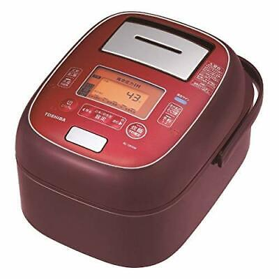 Toshiba RC-10VXM-RS vacuum pressure IH rice cooker 5.5 combined cooking F/S EMS