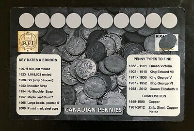 11 X 17 Canadian Coin Roll Hunting 3 Mat Set - Rubber Backed and Safe for Coins!