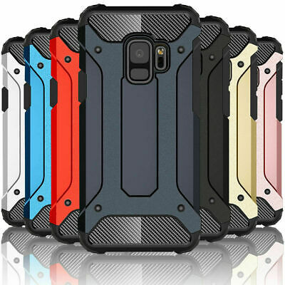 For Samsung Galaxy S10 Plus Hybrid Armor Shockproof Rugged Bumper Case Cover