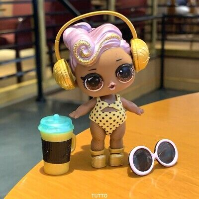 LOL Surprise Doll DJ Glam Glitter Series with earphone toy Authentic