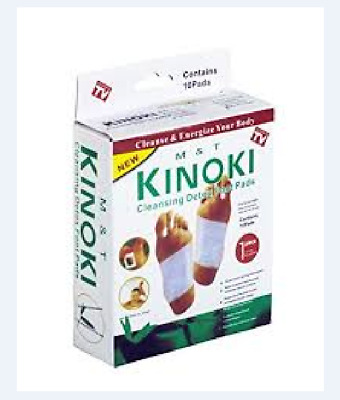 Kinoki Detox Foot Pads Approved FDA for Your Health Care and Wellness 10 pieces