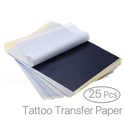 Pro Top Carbon Tattoo Transfer Stencil Kit Tracing Paper A4 Pack of 25
