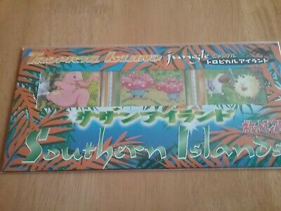 Pokemon Japanese Sealed Southern Islands Tropical Jungle rare cards