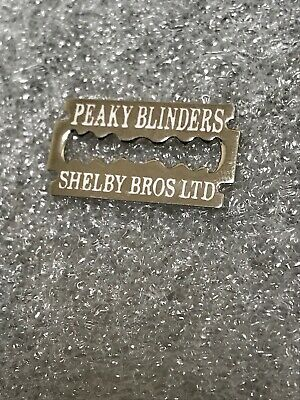 Shelby Brothers Peaky Blinders Enamel Pin Badge - Razor Blade Design Wear On Hat