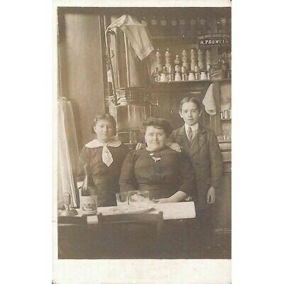 Watermael-Boitsfort - Taverne Tante Marthe. - Carte photo.