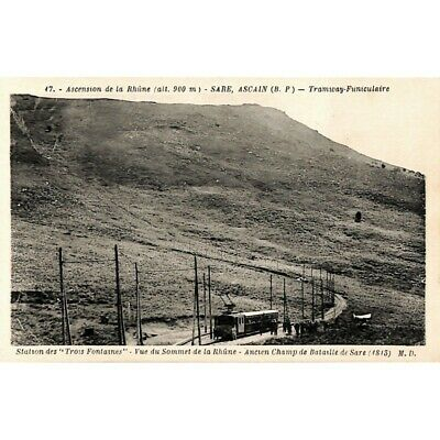 [64] Sare, Ascain - Tramway-Funiculaire.