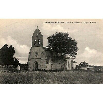 [82] Durfort-Lacapelette - L'Eglise St. Paul.