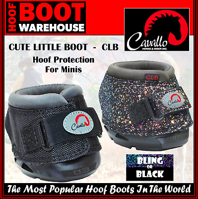 M3 Cavallo Touch Fastening Cute Little Boot For Horses Bling