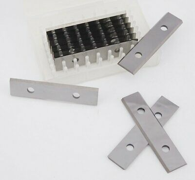 50 x 12 x 1.5mm Solid Carbide Reversible Knives to suit Leuco 003085