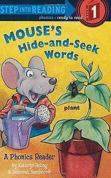 Mouse's Hide-and-Seek Words (Step into Reading) de Heling,... | Livre | état bon