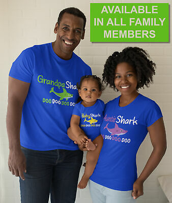 Graphic Baby Shark T-Shirt For Toddlers Boys Girls Tees Baby Infant Bibs Shirts