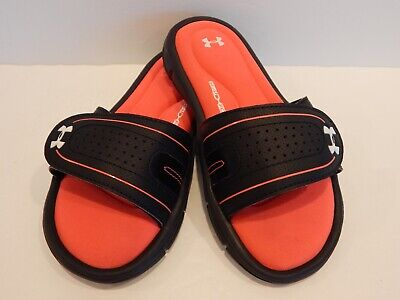 Girl/'s Size 5Y 5 Under Armour Ignite VIII Sandals Slides Youth Kids New