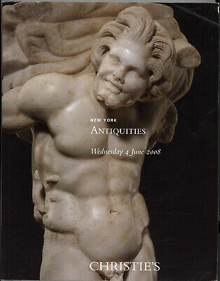 Christie's 2008 Ancient Greek Roman Judea Antiquties Archeology Auction Catalog