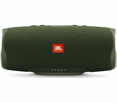 JBL Charge 4 Portable Bluetooth Speaker - Green - Currys