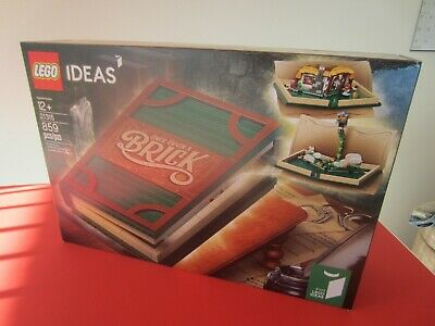 2019 NEW LEGO IDEAS : 21315 the Pop-up book set 100% new in