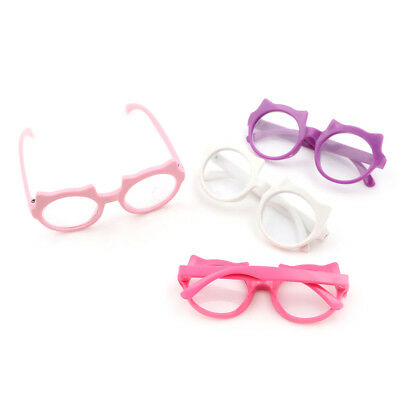 Doll Glasses Colorful Glasses Sunglasses Suitable For 18Inch American Dolls PVCA