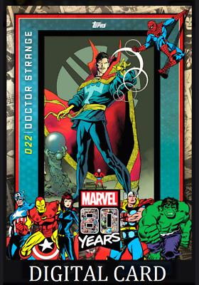 Topps Marvel Collect Card Trader 80 Years Celebration Card Wave 3 Doctor Strange