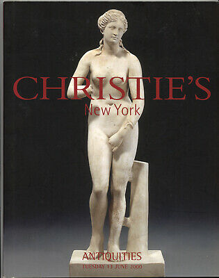Christie's 2000 Ancient Greek Roman Judea Antiquties Archeology Auction Catalog