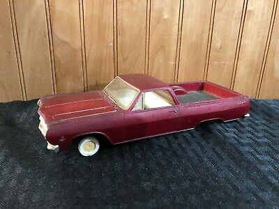ORIGINAL AMT 1965 Chevy El Camino Chevelle Dated Bumpers 4 Screw Bottom  Parts