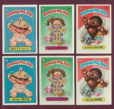 1985 GPK Garbage Pail Kids Series 2 $1.99 EACH You Pick Finish Complete Your Set
