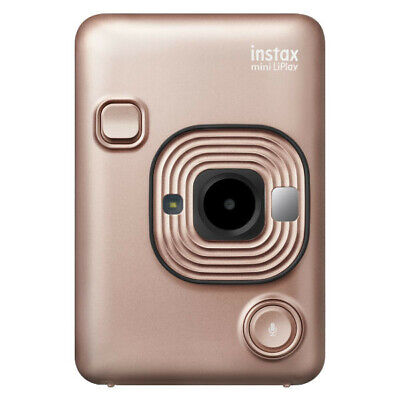 New Fujifilm Instax Mini LiPlay Instant Camera - Pink