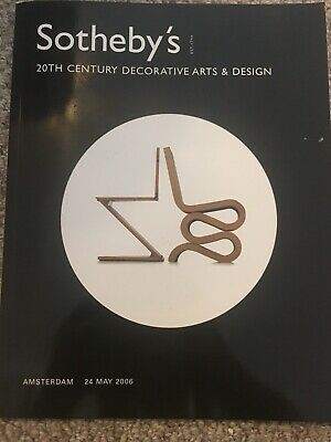Sotheby's 2006 20th Century Decorative Arts And Design