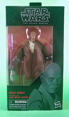 Star Wars Black Series Mace Windu #82 (6 Inch) Brand New Sealed!